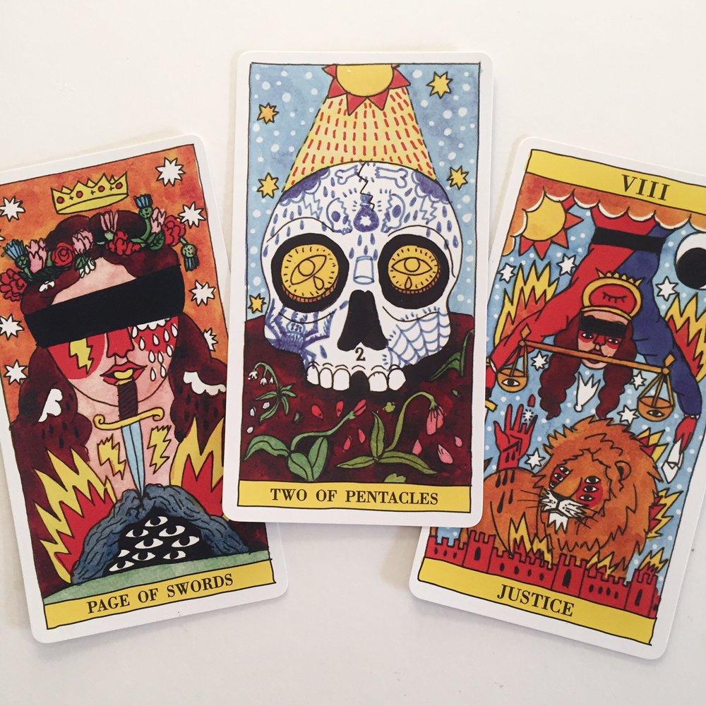Rider Waite Smith Three Card Tarot Reading
