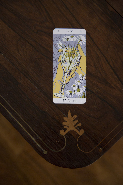 Soprafino Tarot Card Reading Tulip