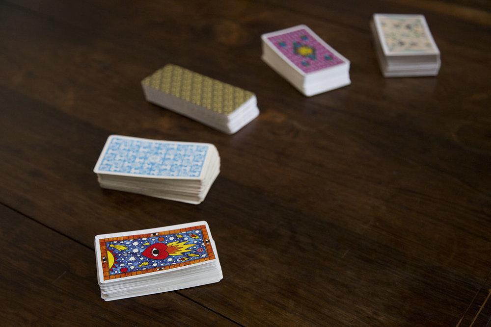 Tarot Cards and Rationality: Tarot del Fuego, Fountain Tarot, Kitty Kahane