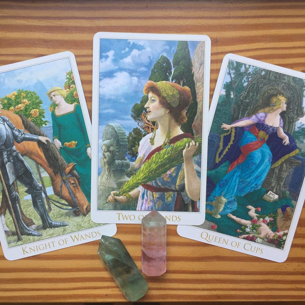 Victorian Romantic Tarot Card Reading