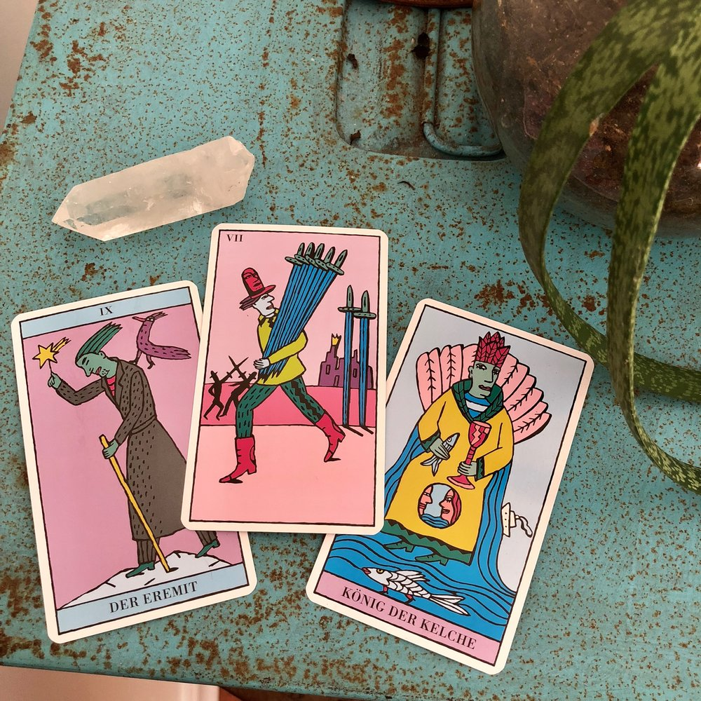 Kitty Kahane Tarot Reading