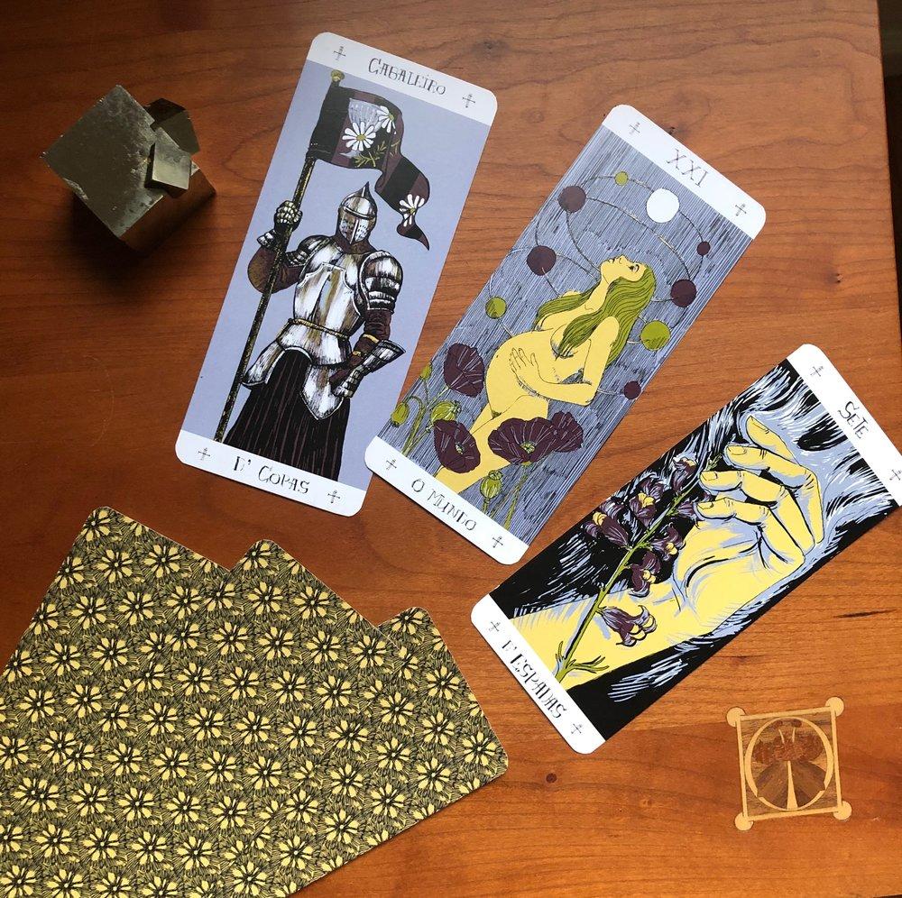 Jonasa Jaus Three Card Tarot Reading