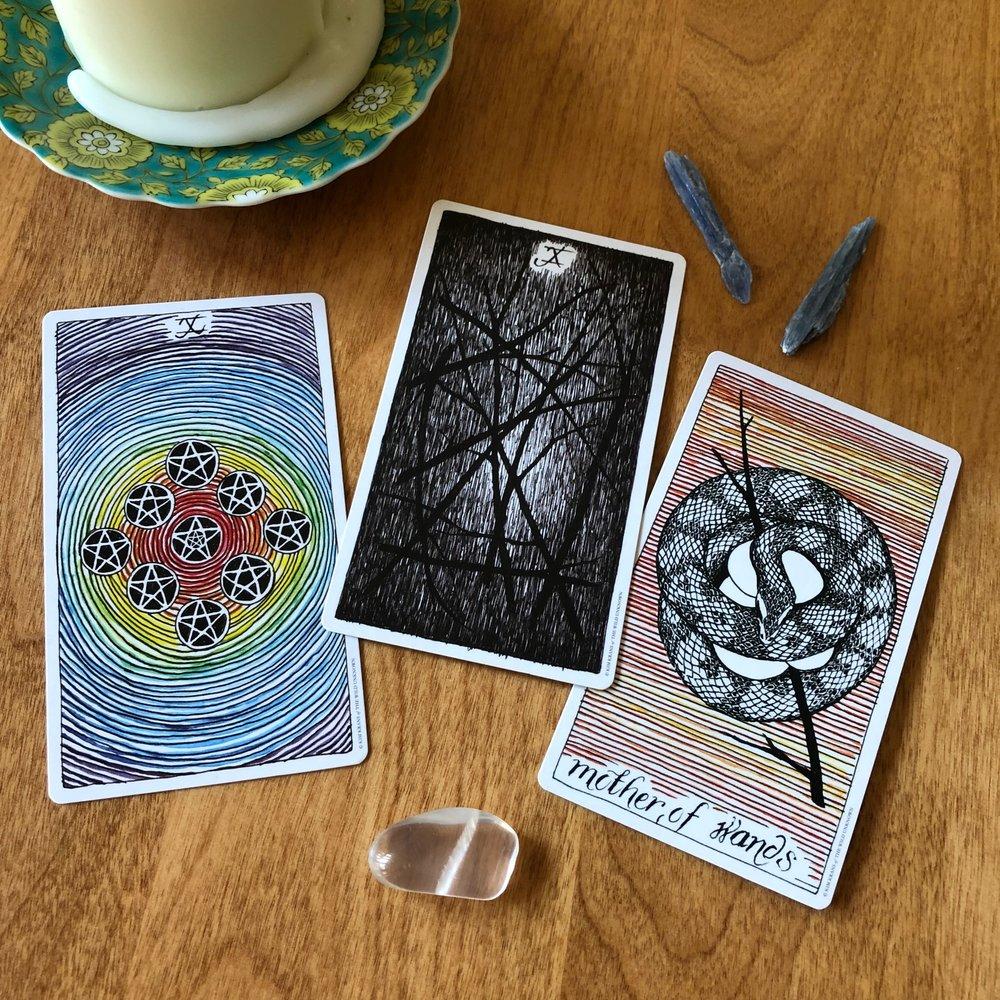 Wild Unknown Three Card Tarot Reading