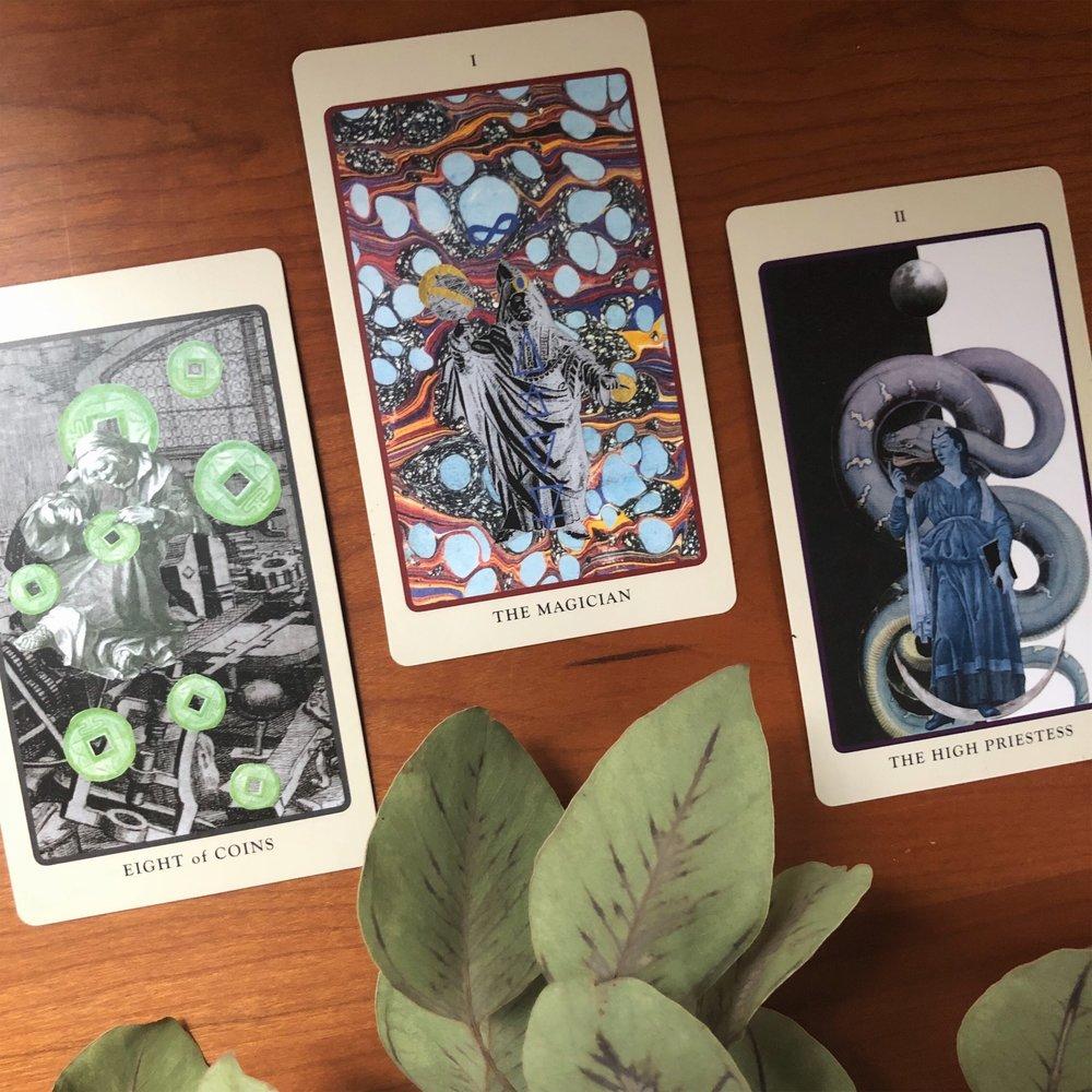 Three Card Reading Pagan Otherworlds Tarot
