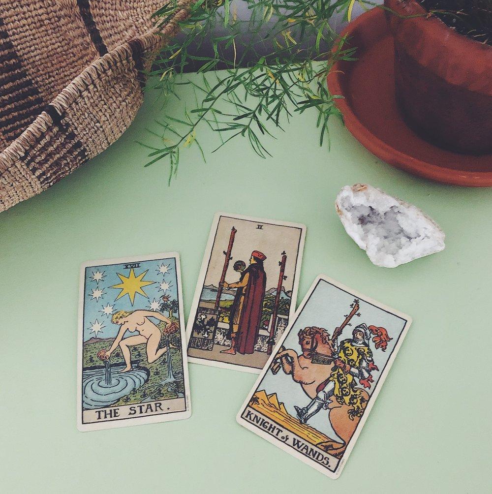Three Card Reading Rider-Waite-Smith