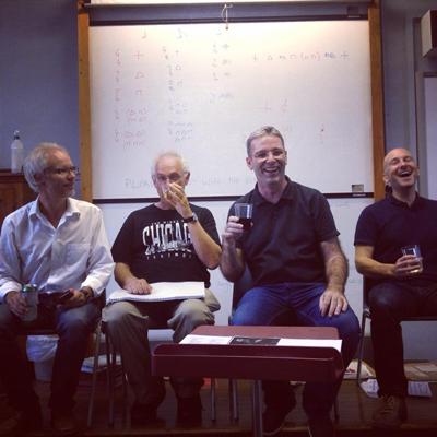l to r: Bjørn Sagstad, Adam Gorb, Mark Heron, Russell Cowieson