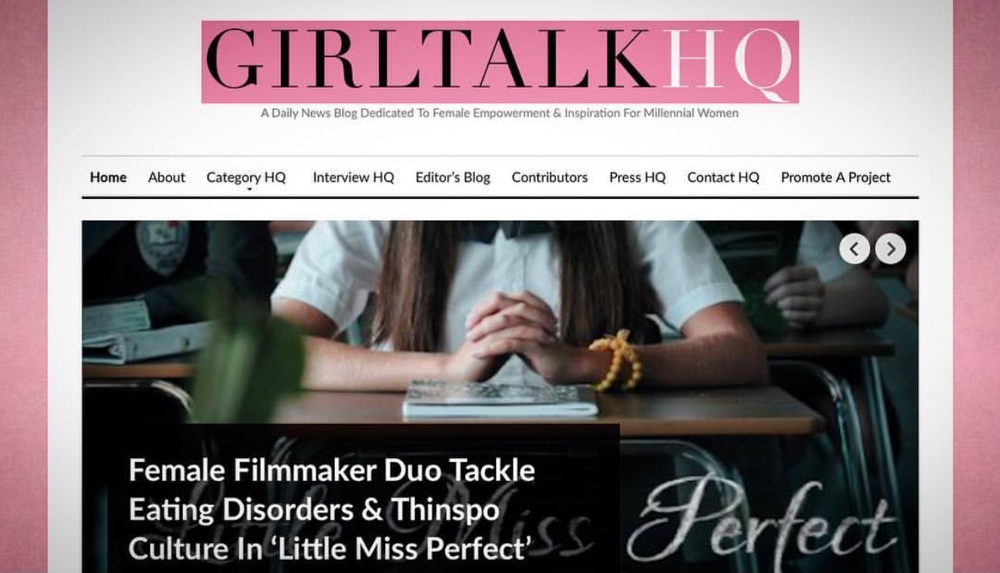 GirlTalk HQ   asks Karlee about her psychologically-intense role in her film.
