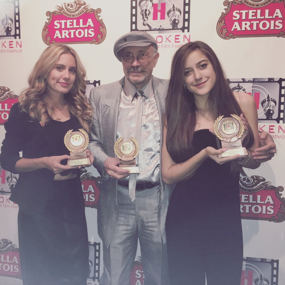 """Karlee wins """"Best Actress"""" at the Hoboken Int. Film Fest. Her film also takes home """"Best Feature Film,"""" """"Best Screenplay,"""" in addition to three other nominations."""