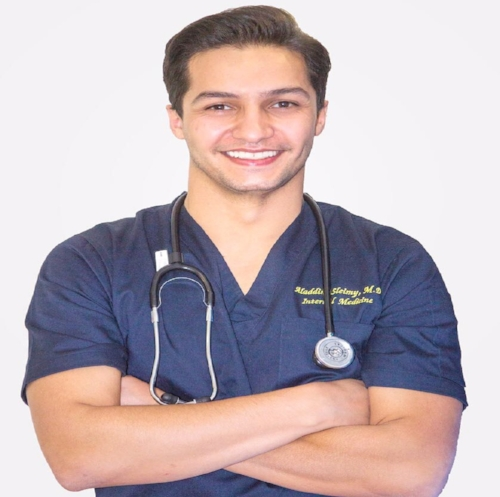 Dr. Aladdin Sleimy, MD is a specialist physician who strives to help people achieve their goals on a daily basis.