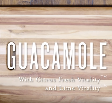 Guacamole with Essential Oils