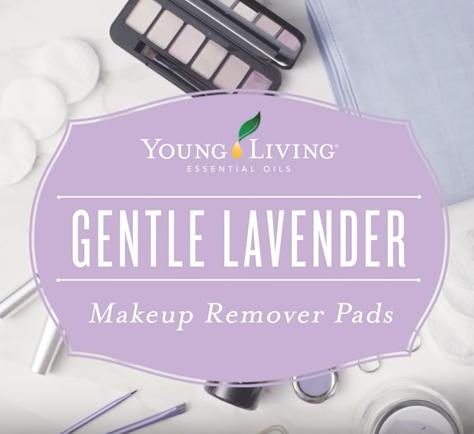 Gentle Lavender Makeup Remover Pads