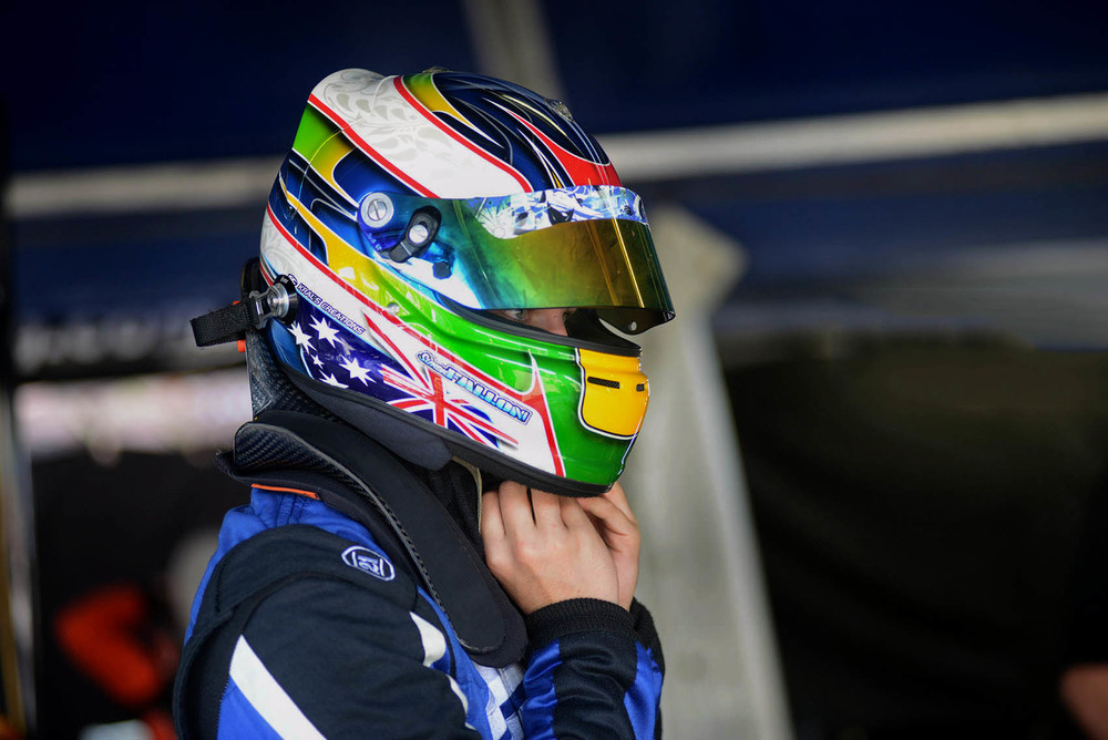 Simon Fallon is seen at Phillip Island - picture by PLM