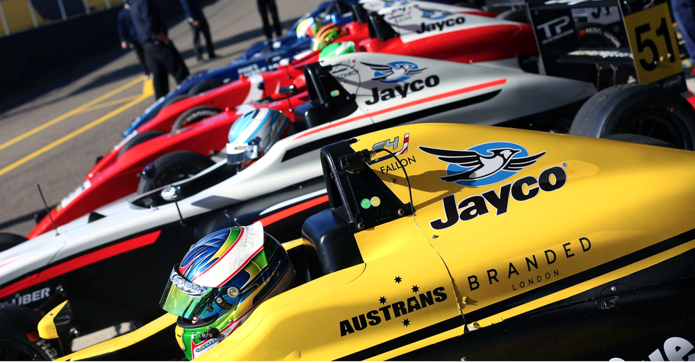 Simon Fallon is seen in his DREAM Motorsport F4 car during Round 3 of the 2016 CAMS Jayco Australian Formula 4 Championship at Sydney Motorsport Park.