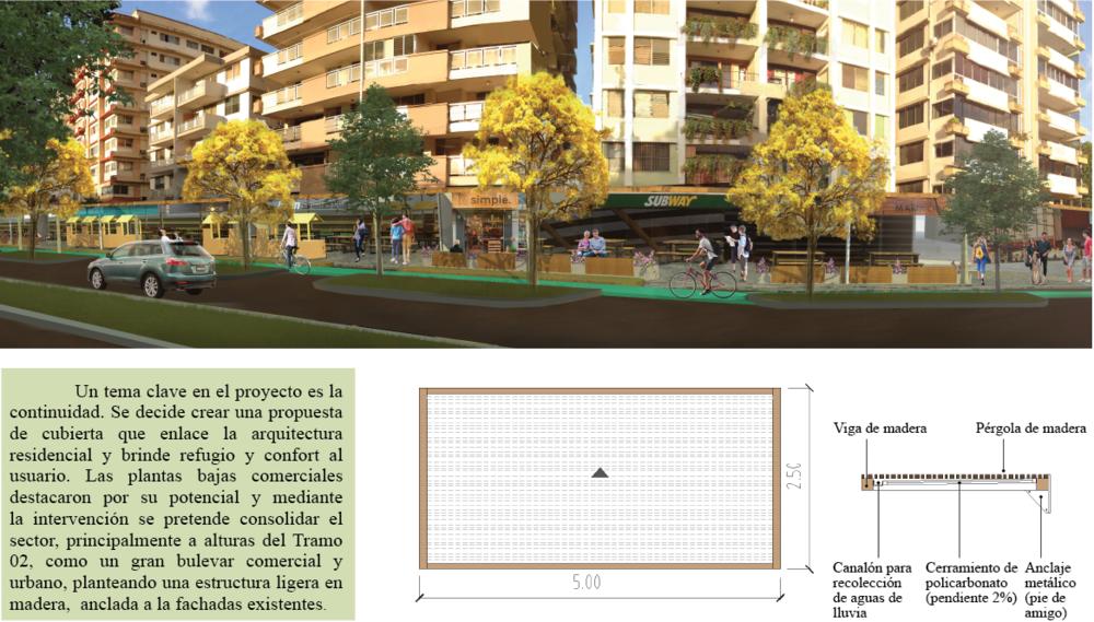 Intervención de imagen urbana - fachadas