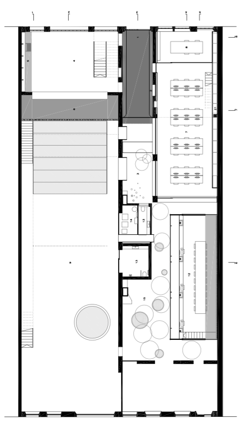 Floor plans Barberí Laboratory