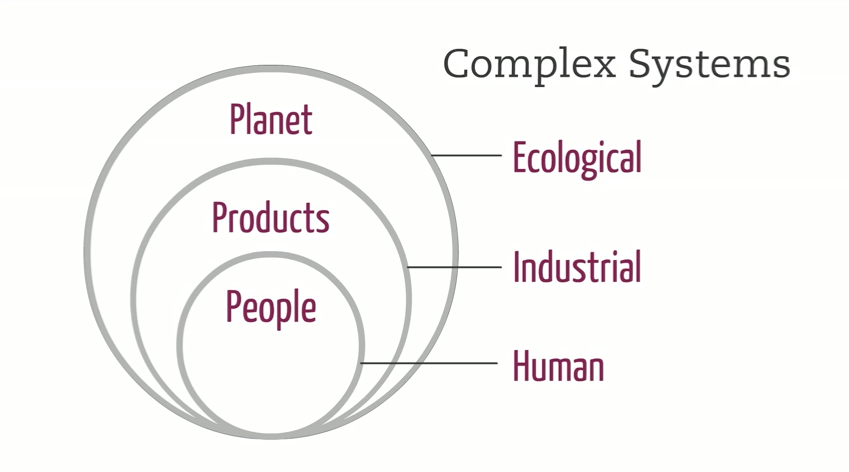 Complex systems involved in development. Acaroglu, L. (2013)