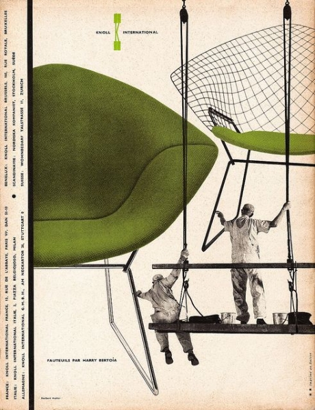 Knoll Ad 1957 - Herbert Matter