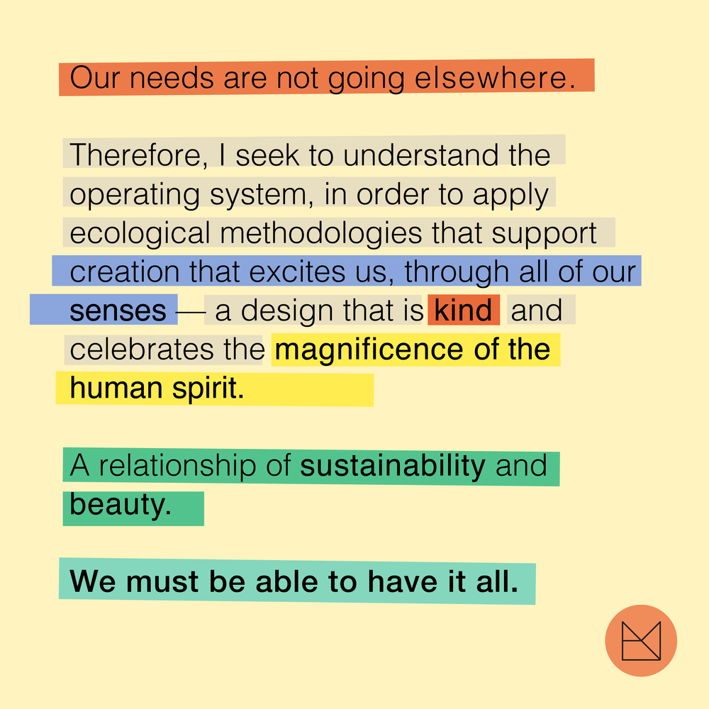 Thoughts on Sustainability. (2017)