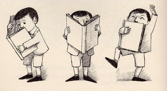 The Big Green Book - Illustration by Maurice Sendak (1962)