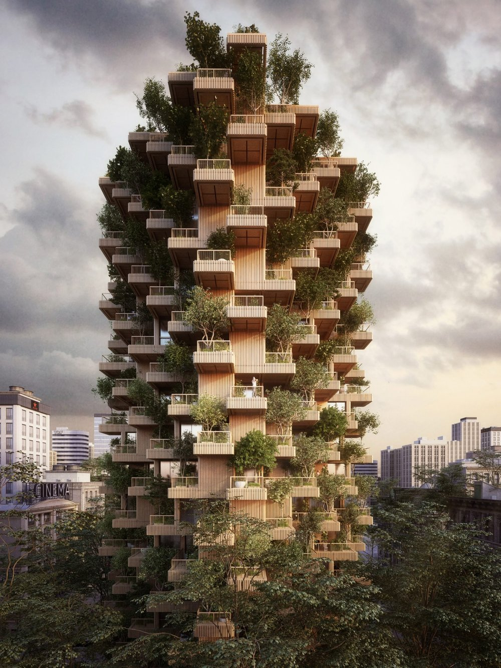 Toronto Tree Tower project