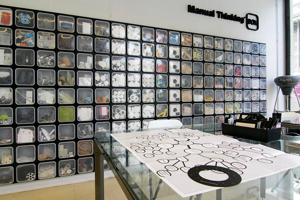 Manual Thinking Box in Luki Huber Studio (2017)