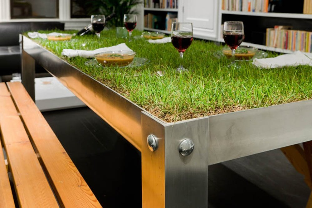 Urban PicNYC table, design by Haiko Cornelissen Architecten.