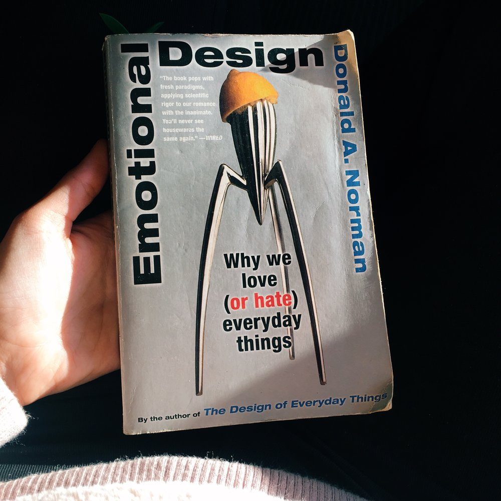 Book Cover of Emotional Design: Why we love (or hate) everyday things.