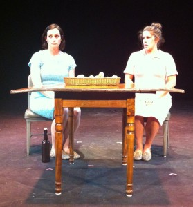 Diana Small and Heather Ostberg Johnson perform in  Mad and a Goat .