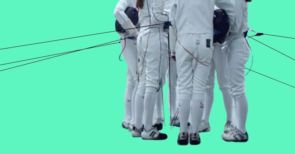 fencing equipment foil
