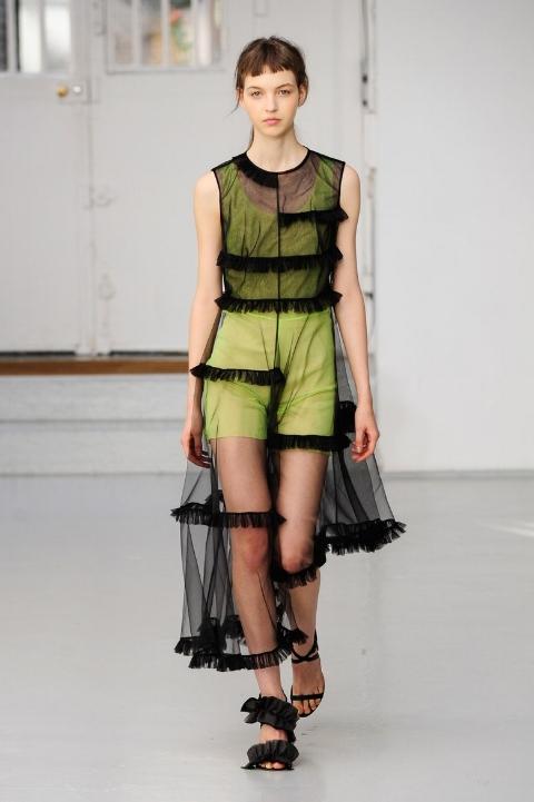 Julie Paskal, photo from Vogue UK