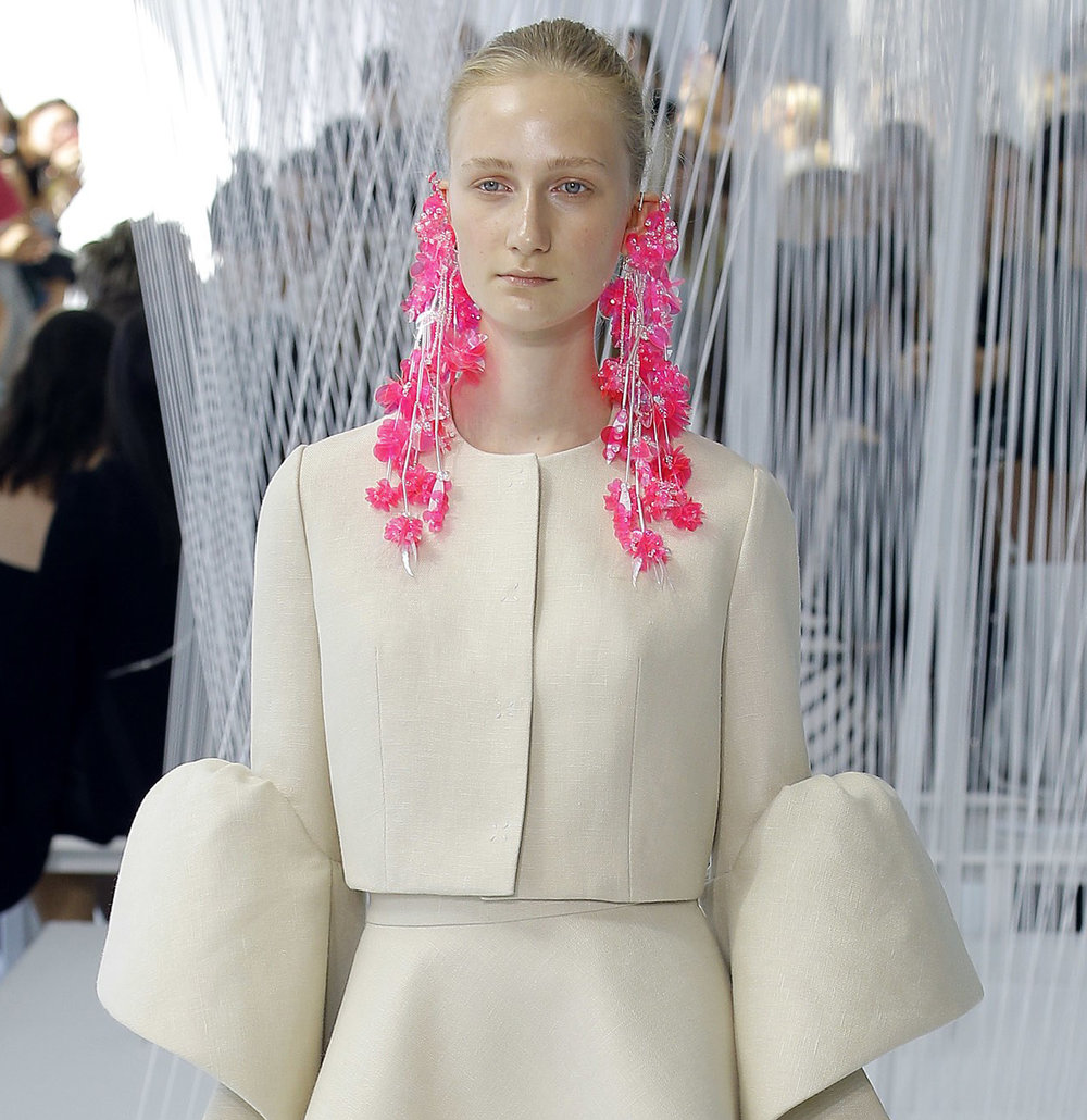 Delpozo, photo from VOGUE Runway