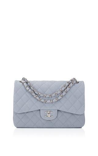 Classic Caviar Double Flap Bag