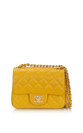 Quilted Square Flap Bag