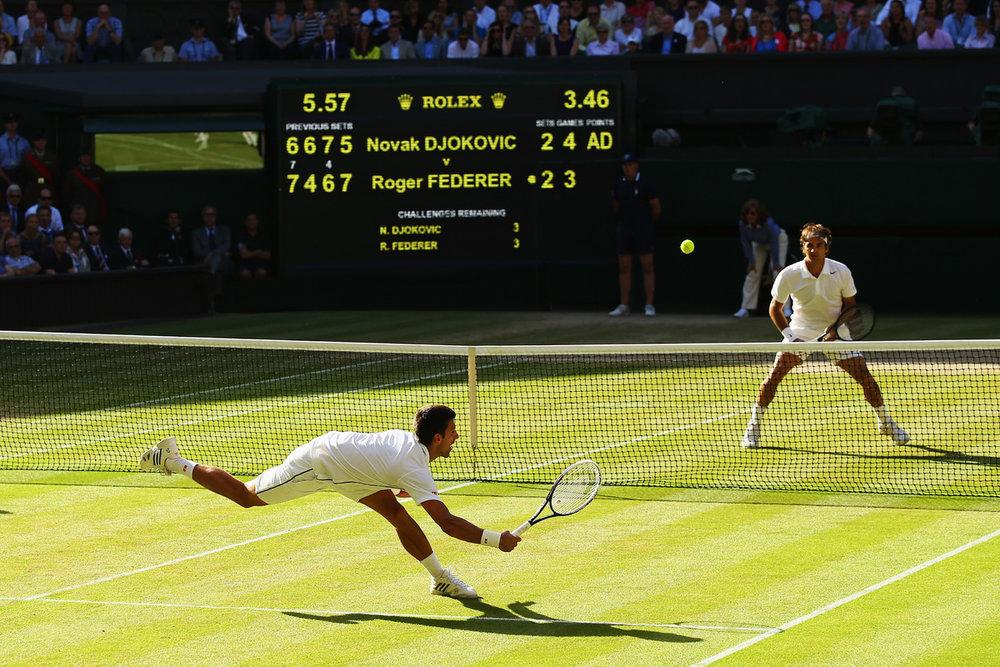 Djokovic Vs. Federer, Wimbledon 2014