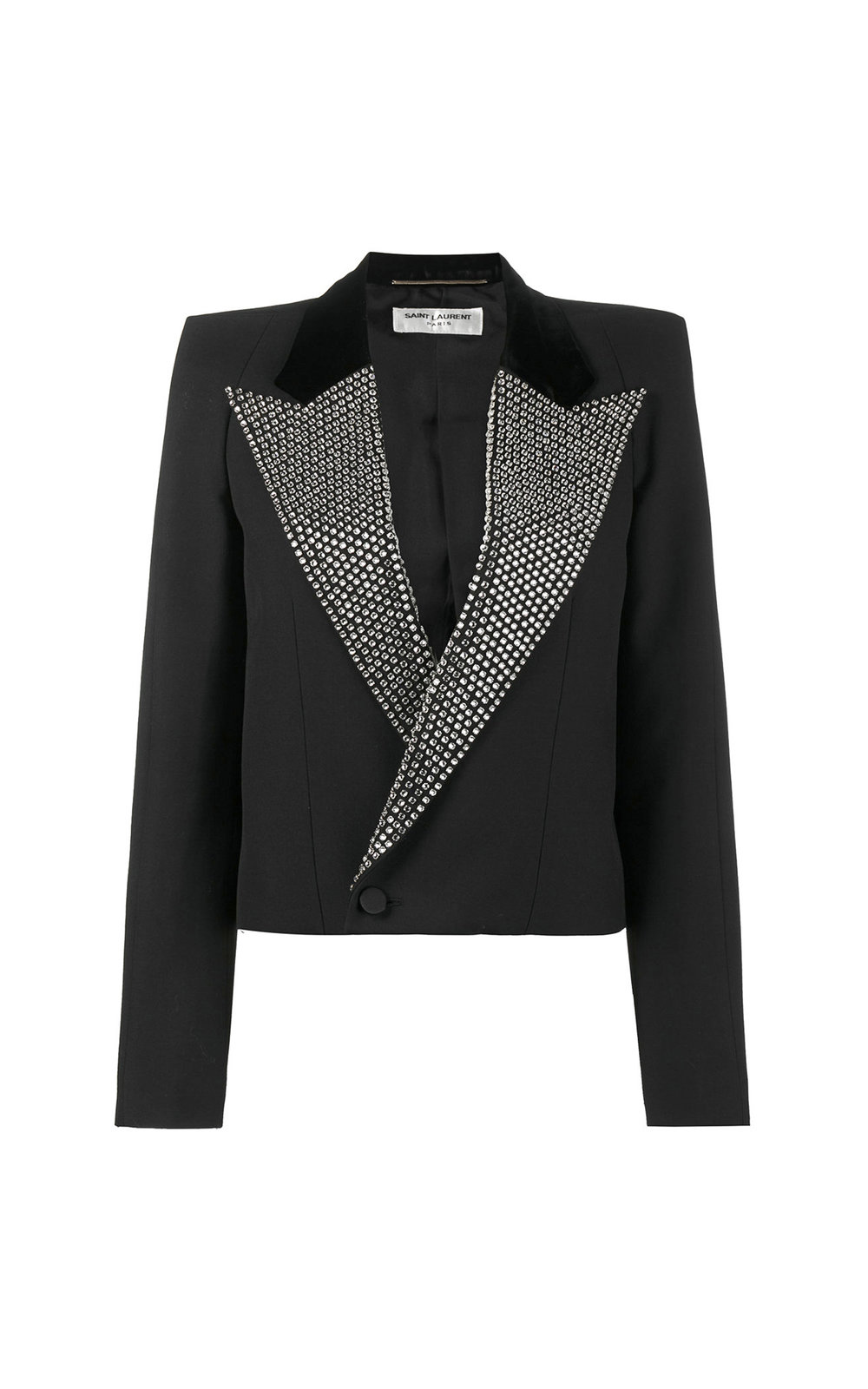 Iconic Cropped Sequin Jacket
