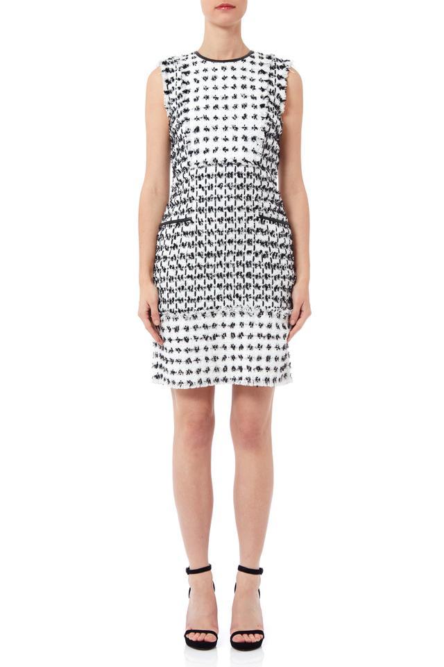 Erdem Kadri Dress Dotted Tweed