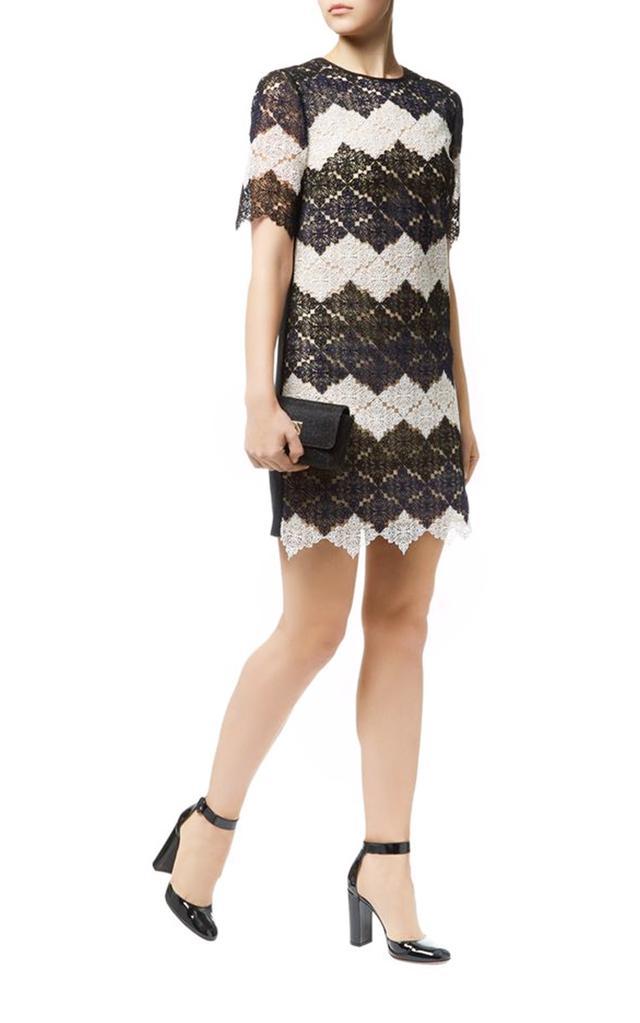 Erdem Emmalina Guipure Lace Shift Dress