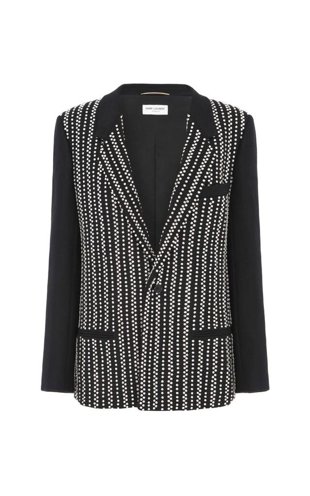 Saint Laurent Show-Stopping Full Sequin Jacket