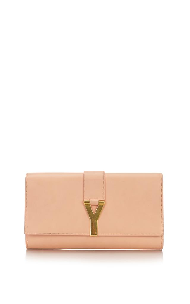 Saint Laurent Classic Ligne Y Blush Clutch