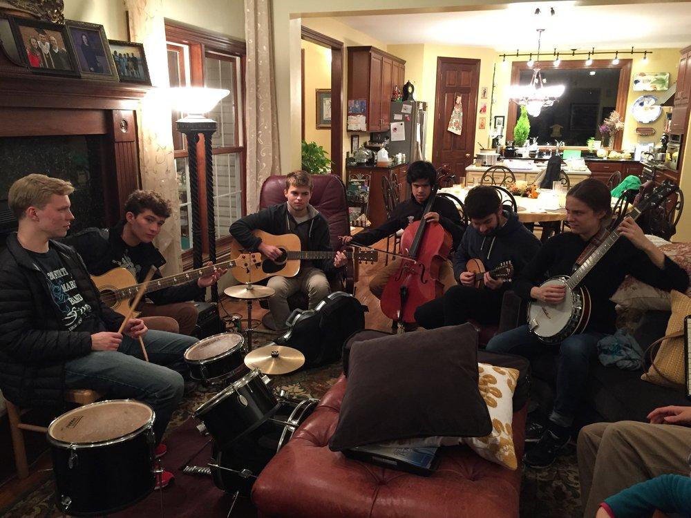 Aidan, Morgan, Craig, Archie, Collin, Eliza