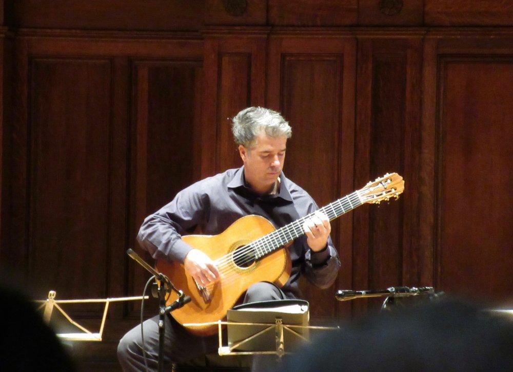 Celino plays solo