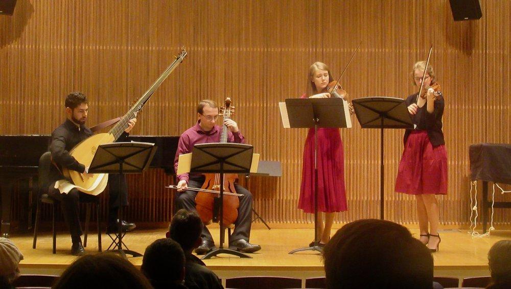 Collin Sterne, Nick Schrantz, Anna Hogas, Annemarie Schubert.