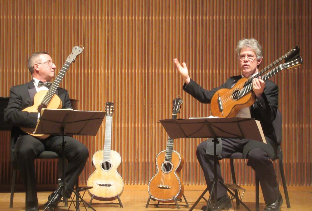 Pasquale Rucco and Douglas James in Kulas Recital Hall