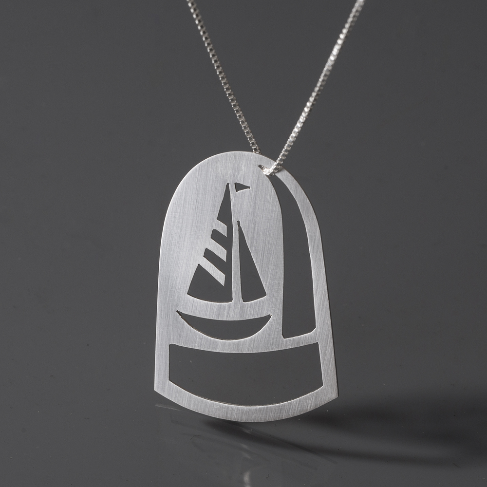 Sail Away Dome Necklace