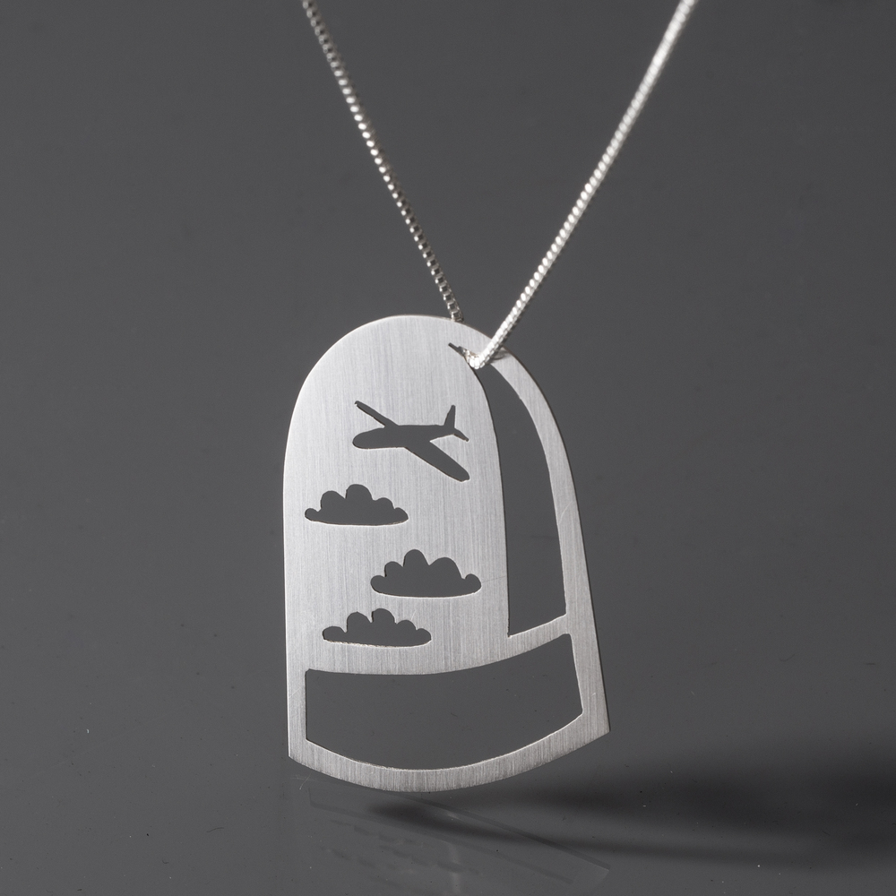 Jet Setter Dome Necklace