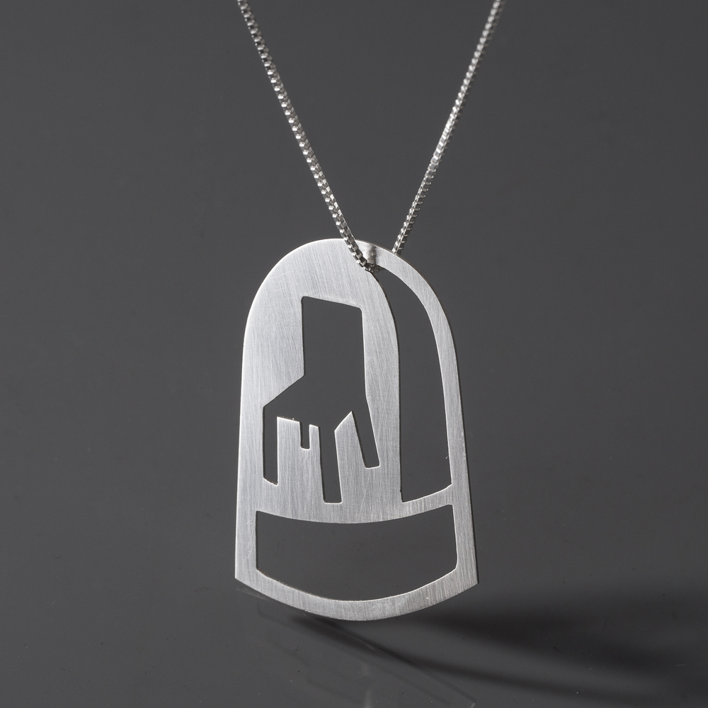 Best Seat Dome Necklace