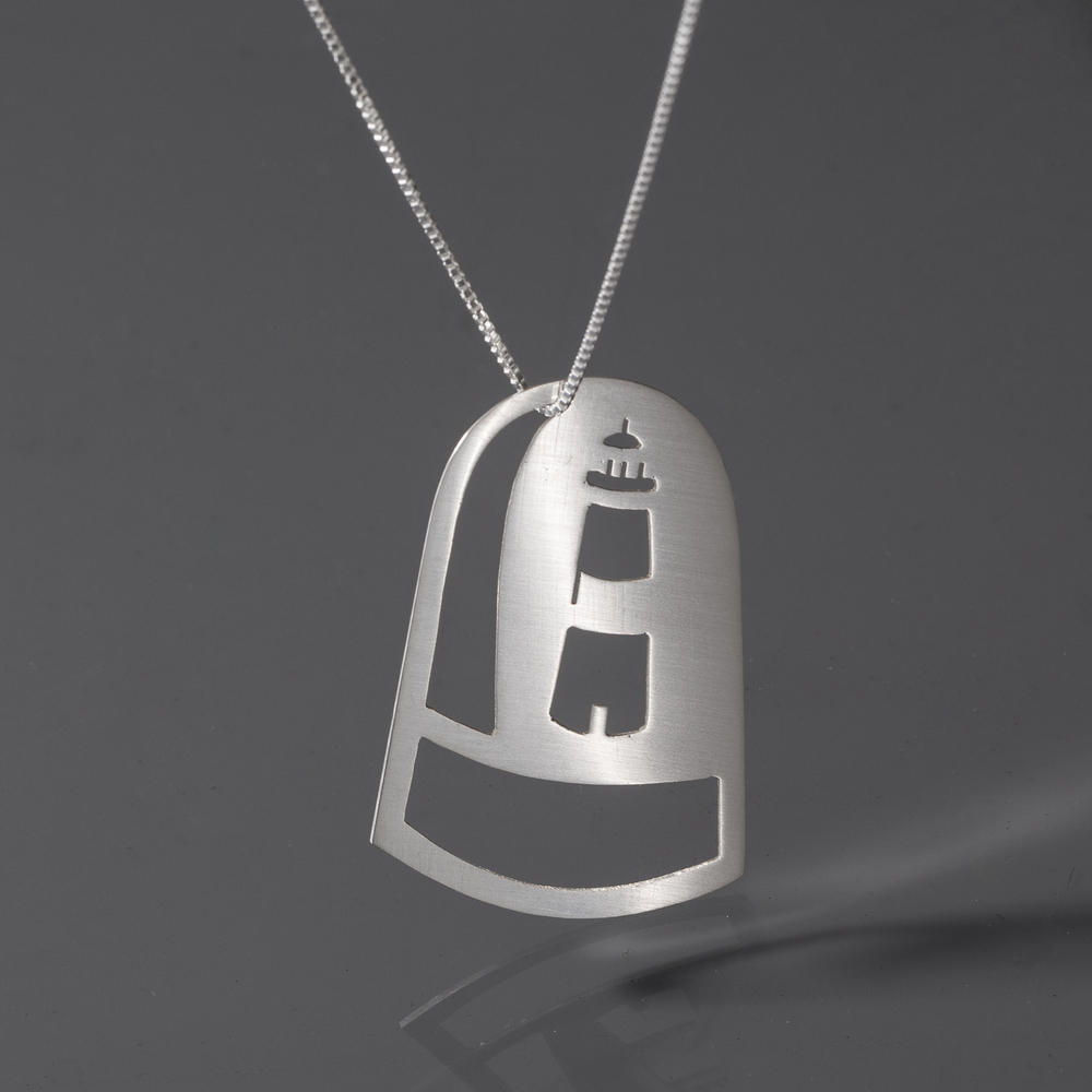 Lighthouse Dome Necklace