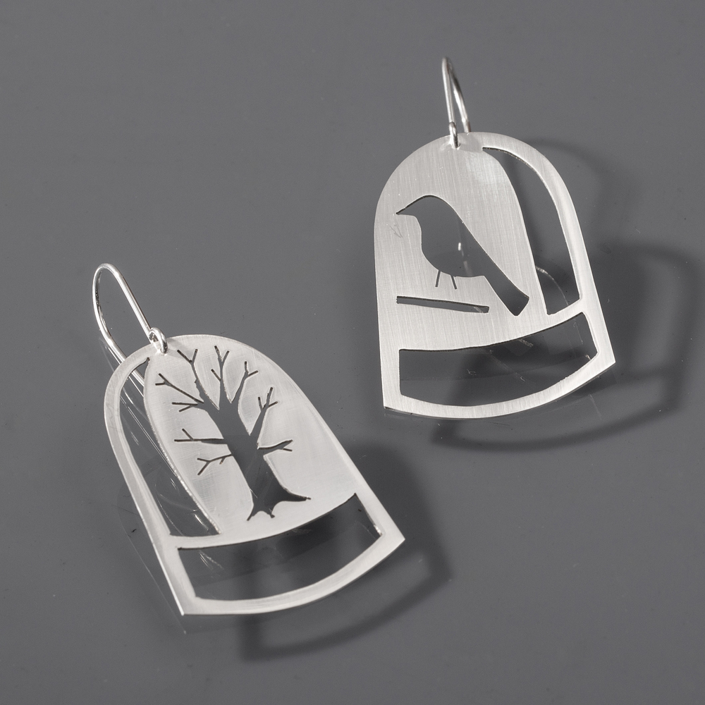 Woodland Dome Earrings