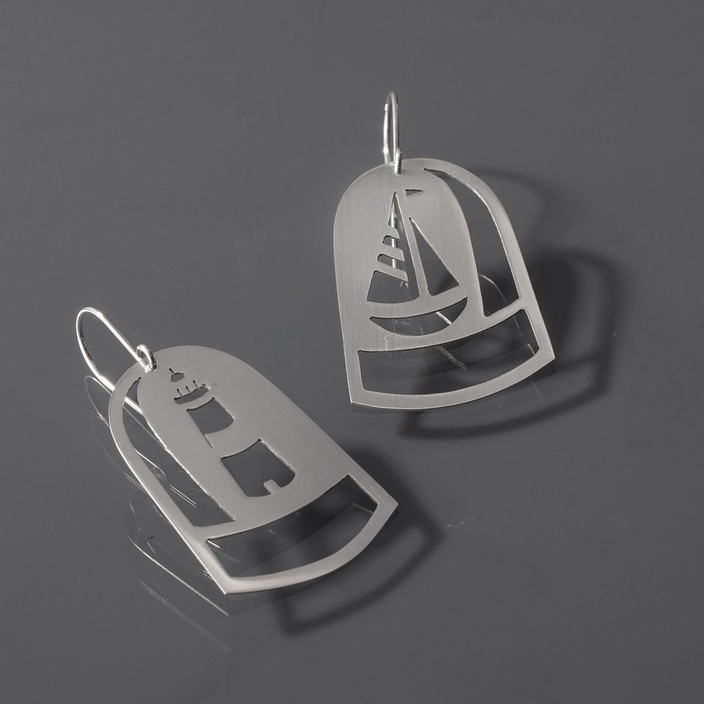 Maiden Voyage Dome Earrings