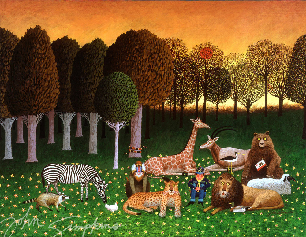 John Simpkins Peaceable Kingdom